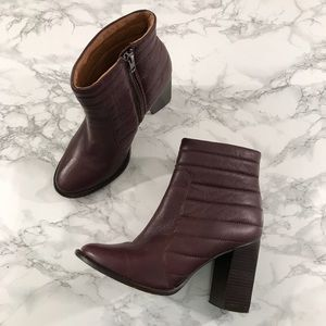 Madewell The Lindley Boot Quilted Leather Booties